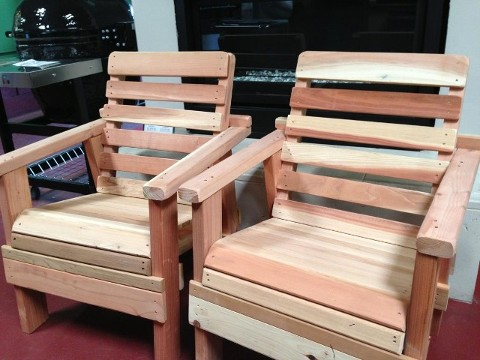 Redwood & Cedar Chairs